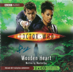 "Doctor Who ""Wooden Heart"" (CD COVER ONLY) signed by  Martin Day 2426                                    2426"